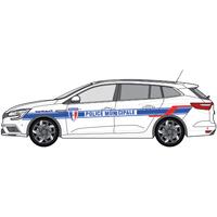 Kit de balisage police municipale pour véhicule léger