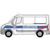 Kit de balisage police municipale pour véhicule utilitaire