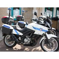 Kit adhésif police municipale pour moto
