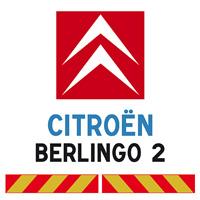 Kit adhésif pompier pour Citroën Berlingo 2