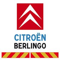Kit adhésif pompier pour Citroën Berlingo
