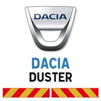 Kit adhésif pompier pour Dacia Duster