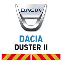 Kit adhésif pompier pour Dacia Duster II