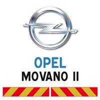 Kit adhésif pompier pour Opel Movano