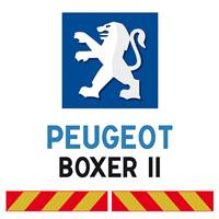 Kit adhésif pompier pour Peugeot Boxer II