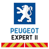 Kit adhésif pompier pour Peugeot Expert II