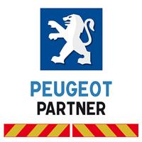 Kit adhésif pompier pour Peugeot Partner