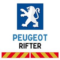 Kit adhésif pompier pour Peugeot Rifter