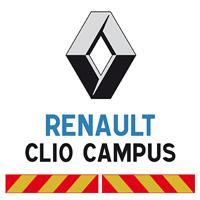 Kit adhésif pompier pour Renault Clio Campus