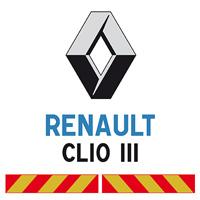 Kit adhésif pompier pour Renault Clio III