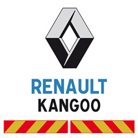 Kit adhésif pompier pour Renault Kangoo