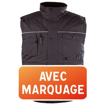 Gilet multipoches marquage 1 face