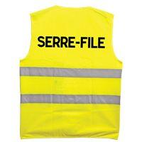 Gilet fluo Serre-File