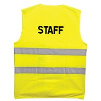 Gilet fluo Staff