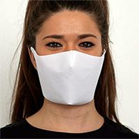 Masque de protection en tissu simple couche
