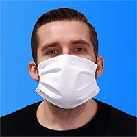 Masque de protection en tissu 3 couches