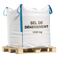 Sel de déneigement en big bag 1 tonne